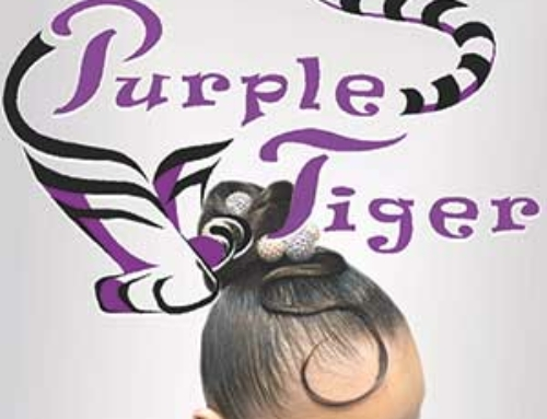 Purple Tiger Hair & Makeup
