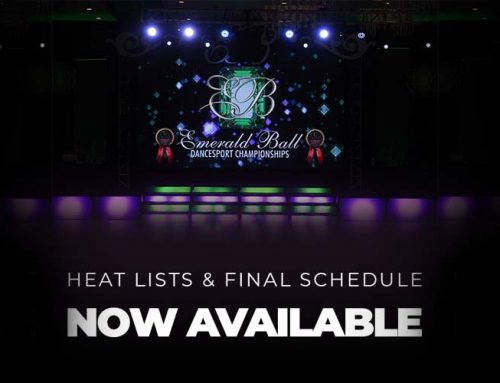 Final Heat Lists & Schedule NOW AVAILABLE