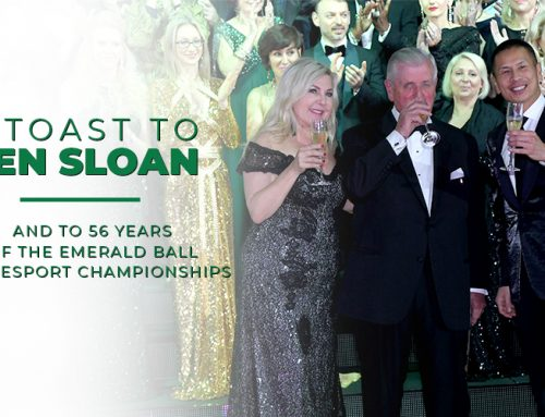 A Toast to Ken Sloan & 56 Years of the Emerald Ball!