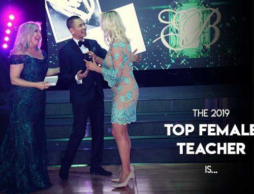 Congratulations to our Top Female Teacher!