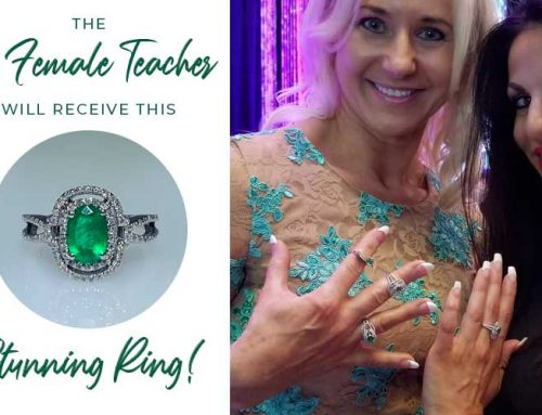 A Stunning Emerald Ring for the Top Female Teacher!