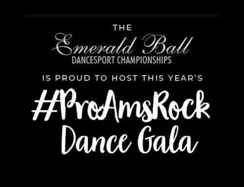 Are you ready for #ProAmsRocks at Emerald Ball?