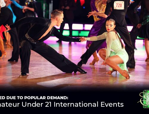 Just Added: Amateur Under 21 Events!