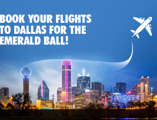 Book Your Flights to Dallas for the Emerald Ball!